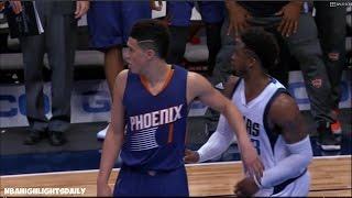 Devin Booker GAME WINNER | Suns vs Mavericks | 3.11.17 | 16-17 NBA Season