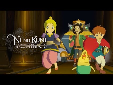 Ni no Kuni: Wrath of the White Witch Remastered - Official Trailer   E3 2019