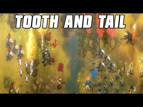 Tooth and Tail Multiplayer 2v2 - Ruthless AI fight
