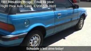 1991 Mitsubishi Mirage Base 2dr STD Hatchback for sale in Id