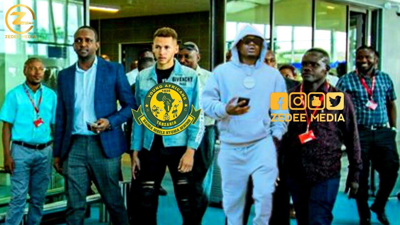 Download Yanga sc watambulisha Mchezaji MPYA Harmonize Wampokea KIFALME Ni Balaaa