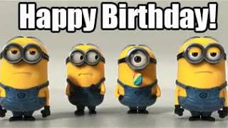 Minion song happy birthday