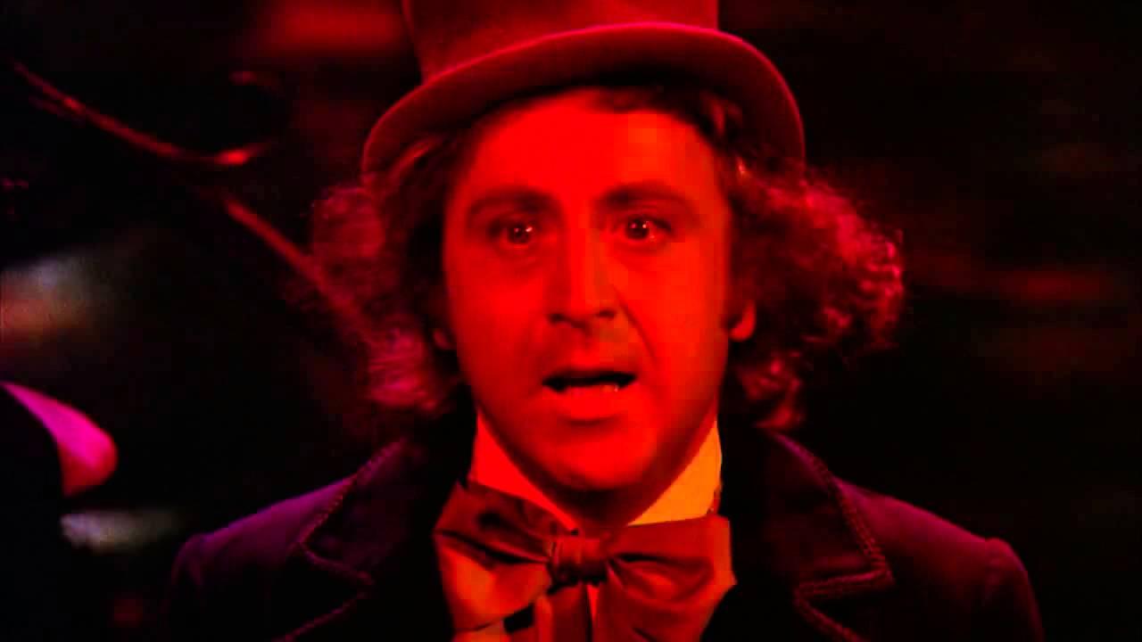 Willy Wonka Boat Scene Youtube