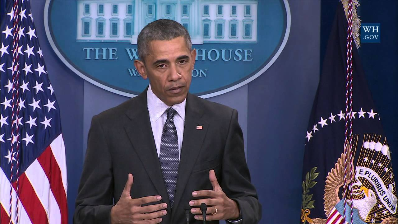 President obama statement today