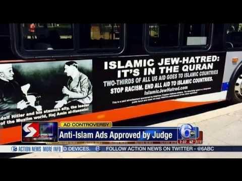 Judge Rules Philadelphia Buses Must Run Anti Islam Ads Featuring Hitler