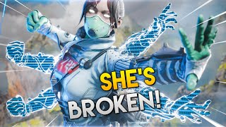 This GLITCH Makes WRAITH BROKEN!! | Best Apex Legends Funny Moments and Gameplay - Ep. 288
