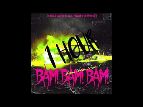 DJ H.ONE (형원) X JUSTIN OH (feat. Jooheon 몬스타엑스) -  Bam Bam Bam (뱀뱀뱀) 1 Hour