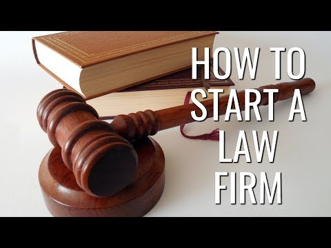 How To Start A Law Firm | Startup Business Ideas