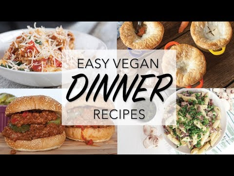 THE BEST VEGAN DINNER RECIPES | 10 Vegan Dinner Ideas |  The Edgy Veg