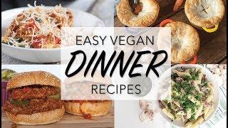 THE BEST VEGAN DINNER RECIPES | 10 Vegan Dinner Ideas |  The Edgy Veg