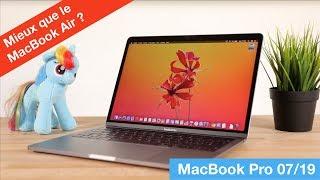 Test du MacBook Pro mi-2019 (1.4Ghz) : mieux que le MacBook Air ?