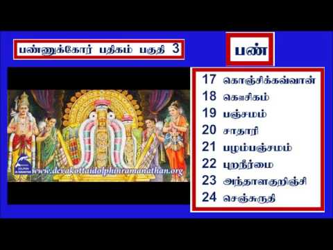 THEVARAM SONGS  VOL 106 PANNUKKOR PATHIGAM PART 3  பண்ணுக்கோர்  பதிகம் DOLPHIN COLLECTION