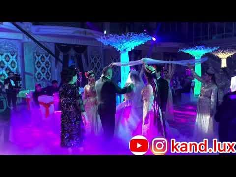 Шикарная свадьба в Худжанде оформление, тяжело 💨 дым от «Канд Люкс»