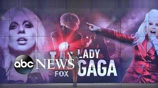 Lady Gaga Super Bowl Halftime Show Rehearsal ...