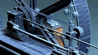 Steam Engine (mesh wire frames)