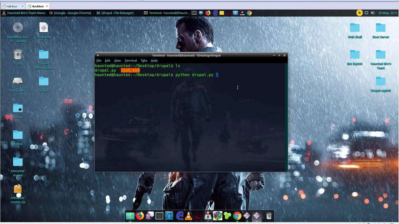 Drupal RCE Exploit and Upload Shell 2018