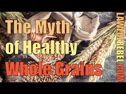 """The Myth of Healthy Whole Grains with Dr William Davis - """"Living outside the Matrix"""" Episode 41"""