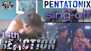 Pentatonix & Nick Lachey-Give Me Just One Night (Una Noche) - Sing Off - REACTION!