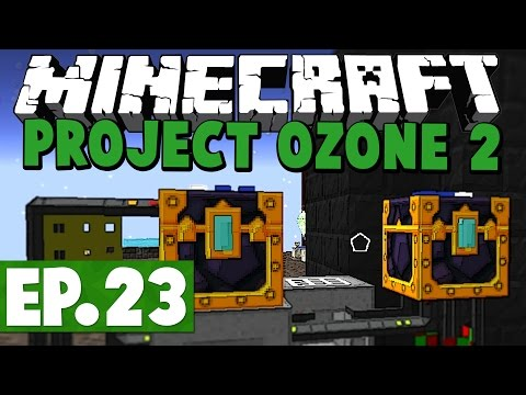 Minecraft Project Ozone 2 Kappa Mode! #23 [Modded HQM Skyblock]