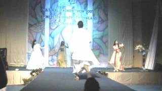 Indian Traditional Fashion Show and Dance in Collage of Cultures 2005