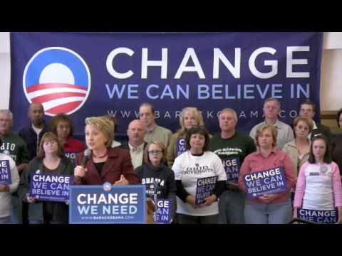 Senator Clinton Campaigns for Obama-Biden in southern Ohio Part 3