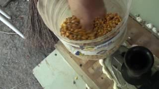 зернодробилка/крупорушка своими руками, самая дешевая и производительная