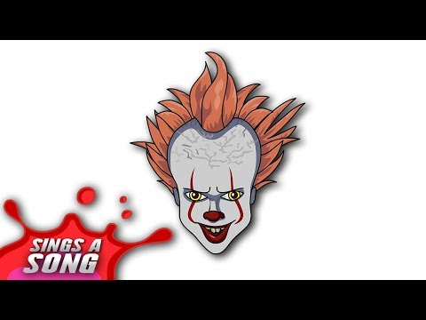 Pennywise Sings A Song IT Chapter 2 Animated Version (Stephen King 'IT' Parody)
