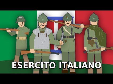 La STORIA dei SOLDATI ITALIANI nella Prima Guerra Mondiale