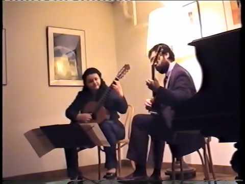"""Castelnuovo-Tedesco """"Fandango"""" Miriam Fernandez, M..."""