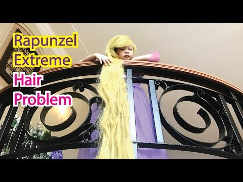 5 year Old Rapunzel Extreme Magical Hair