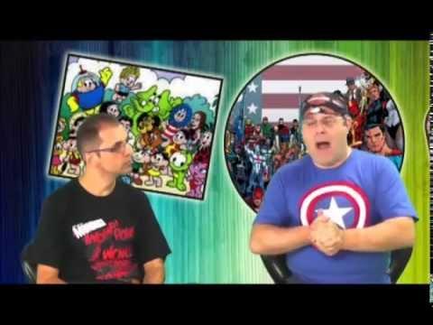 Eduardo Marchiori e Eder Pegoraro da Revista Mundo dos Super-Heróis na TV Geração Z
