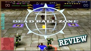 Dead Ball Zone - PS1 - with Commentary !!