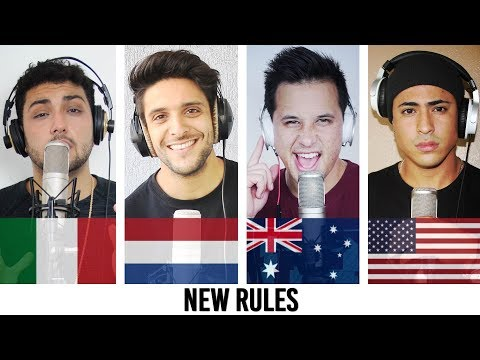 Thumbnail: Dua Lipa - New Rules COVER