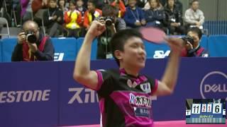 世界卓球2018 日本代表最終選考会 男子決勝 大島祐哉vs張本智和 第4ゲーム