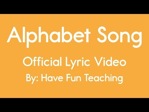 Alphabet Song Alphabet Song Lyrics