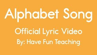 Alphabet Song (Lyrics)