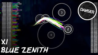 osu! top 50 replays | xi - Blue Zenith [FOUR DIMENSIONS]