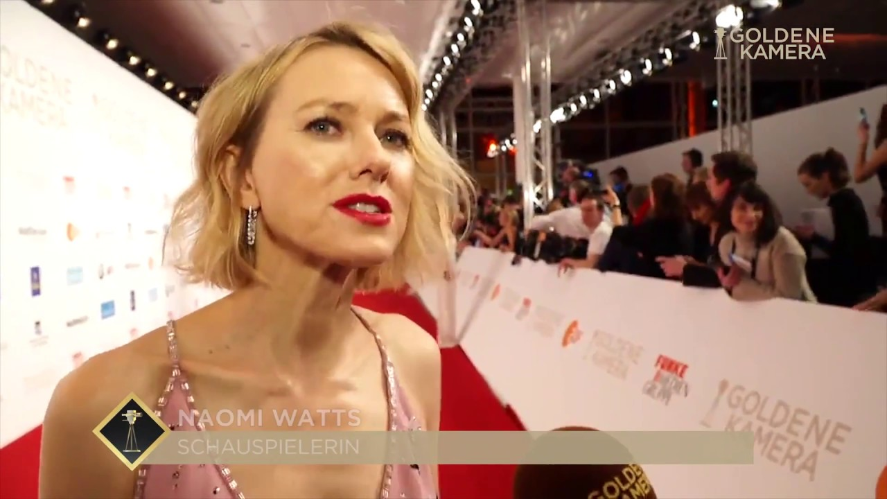 goldene kamera 2018 interview mit naomi watts youtube