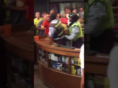 Situación irregular dejó un detenido en centro comercial de Maracaibo