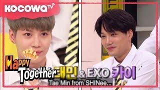 [Happy Together] Ep 513_Da Hye is a big fan of SHINee TaeMin