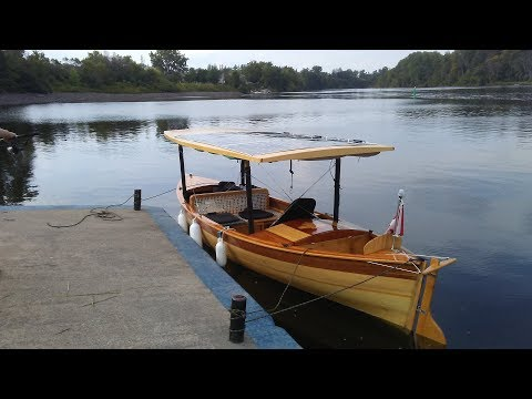 Part Two Solar Electric Boat Trip on the Rideau, Kingston to