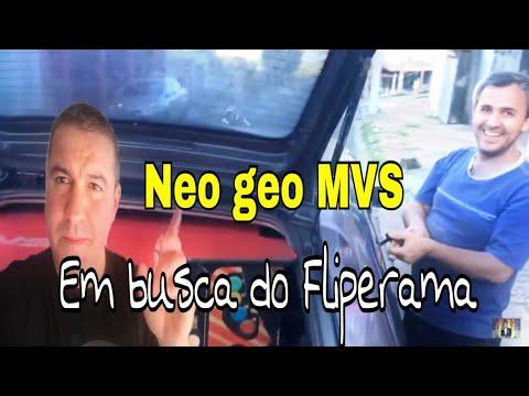 Saga Neo Geo MVS-EM busca do Fliperama Part2