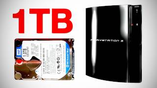 1TB PS3 Hard Drive Upgrade