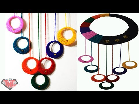 Awesome Wall Hanging Crafts Ideas Decorations || DIY Wool Yarn Crafts || উলের সুতার ওয়ালম্যাট