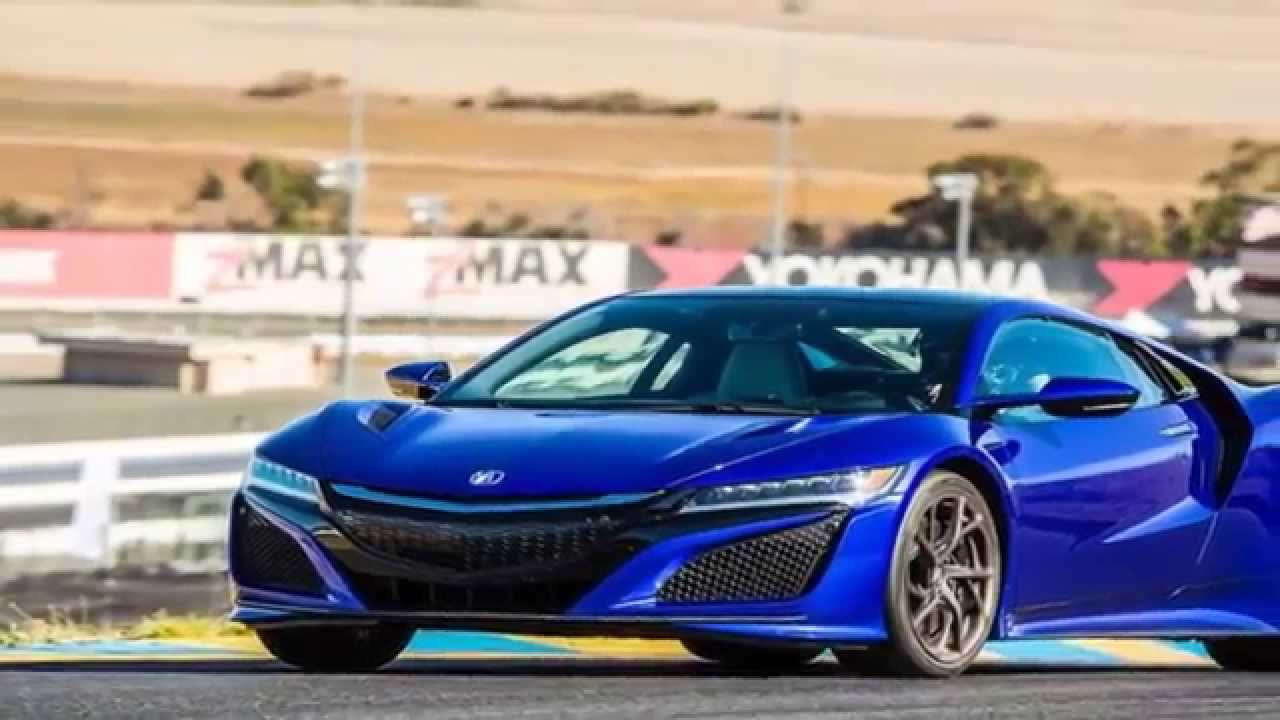 honda nsx 2016 blue road and track youtube. Black Bedroom Furniture Sets. Home Design Ideas