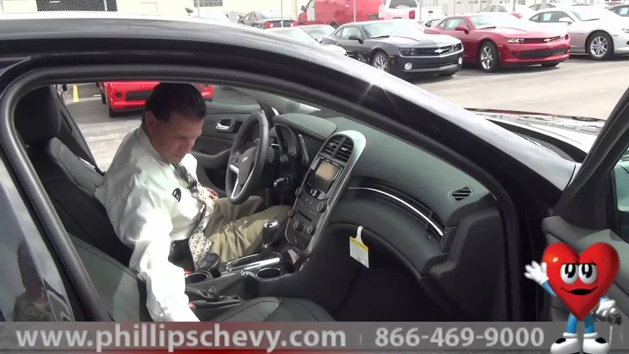 Phillips Chevrolet   2014 Chevy Malibu   Interior   Chicago New Car  Dealership