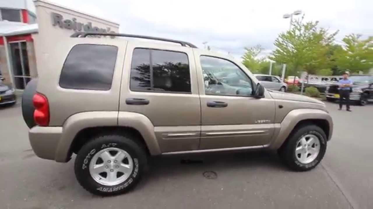 2004 jeep liberty limited   tan   4w225459   everett   snohomish