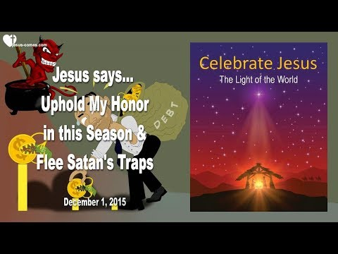 FLEE SATAN'S TRAPS & UPHOLD MY HONOR IN THIS SEASON ❤️ Love Letter From Jesus