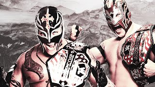 "WWE Rey Mysterio and Kalisto ""Stardust"" [Thanks for 7k+ subs!] HD"