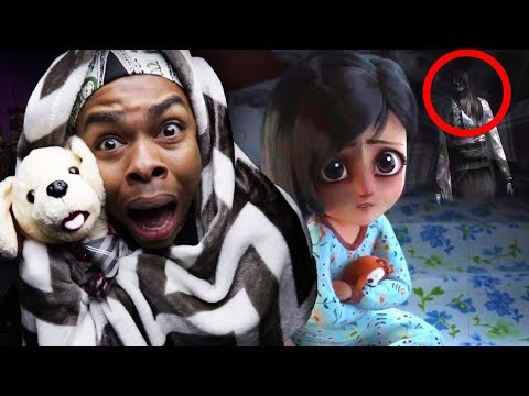 REACTING TO THE MOST SCARY ANIMATIONS ON YOUTUBE (DO NOT WATCH AT NIGHT)